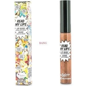 theBalm Read My Lips Lip Gloss Infused w/ Ginseng